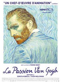 Cinéma : La passion Van Gogh (2017 – 1h35). De Dorota Kobiela et  Hugh Welchman.