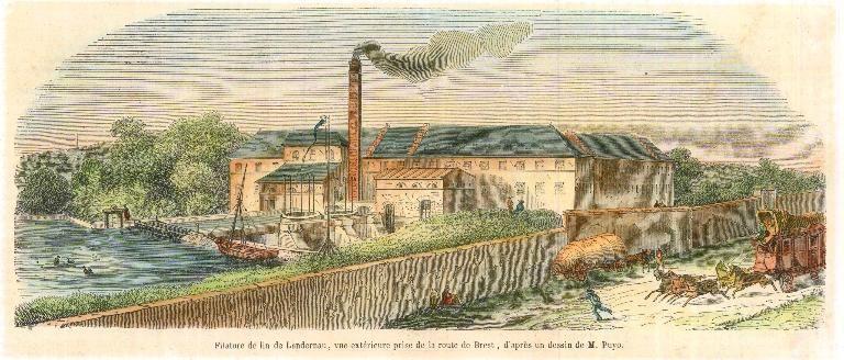 Du lin à l'argile : le site industriel de Traon Elorn à Landerneau
