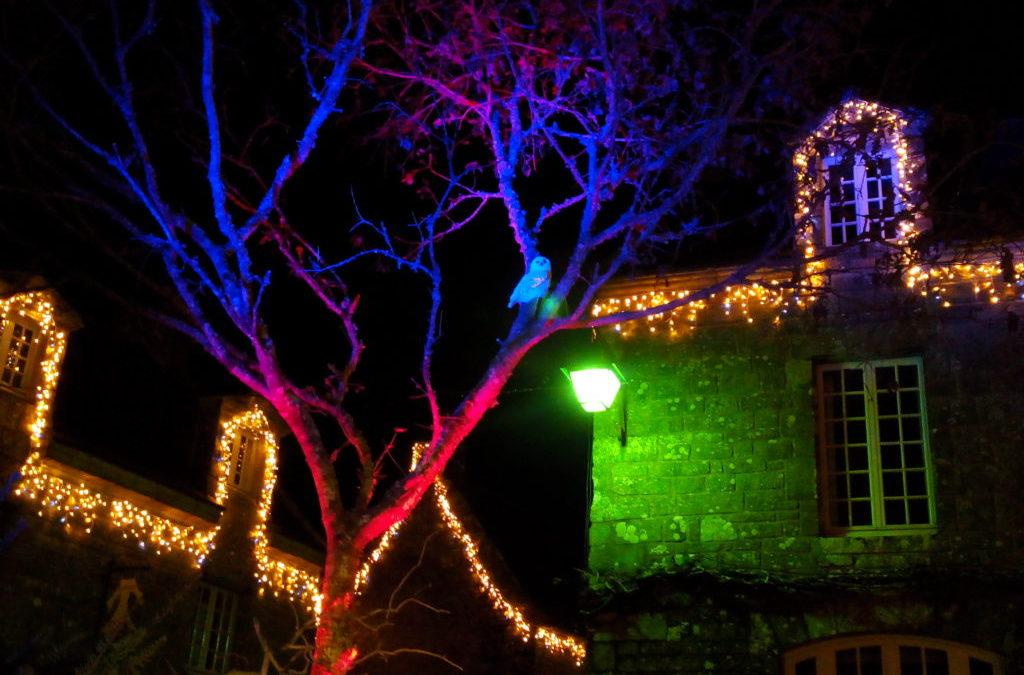 Balade nocturne à Locronan