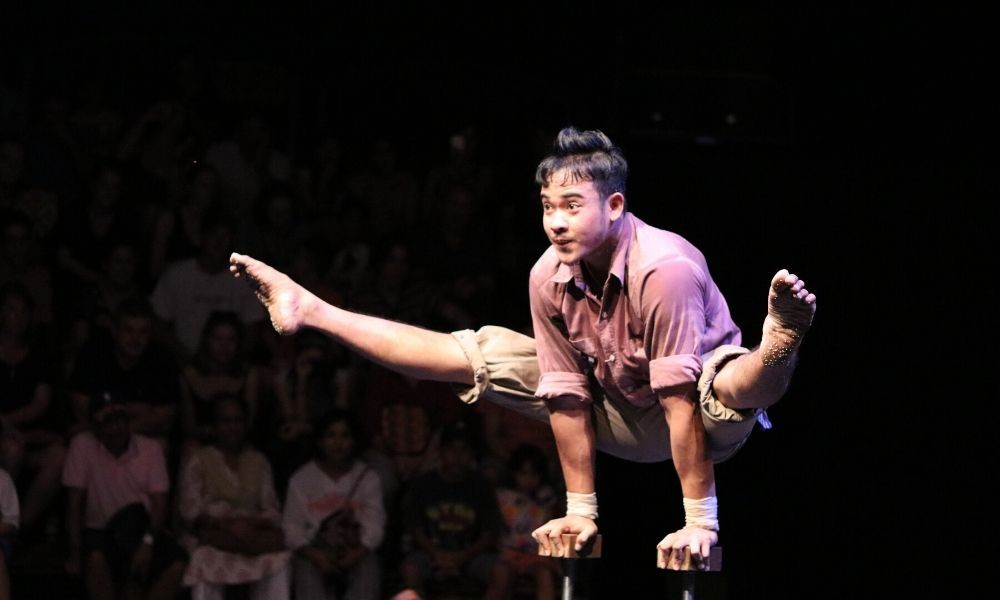 Cirque   «L'or blanc»